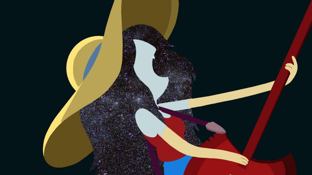 guitars Adventure Time Marceline the Vampire Queen wallpaper