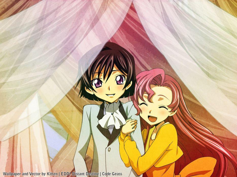 Code Geass Euphemia li Britannia Lamperouge Lelouch anime wallpaper