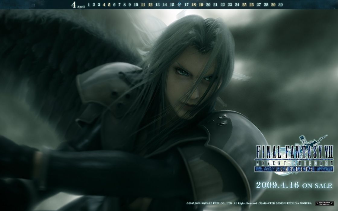 Final Fantasy Final Fantasy VII Advent Children Sephiroth wallpaper