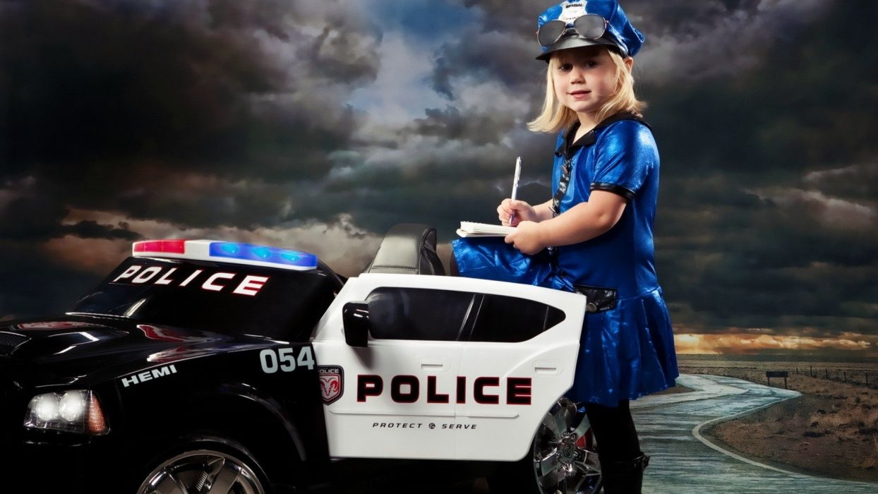 women police funny police cars wallpaper