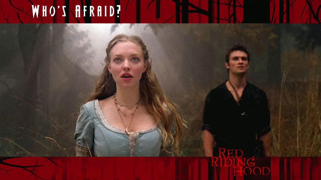 movies Amanda Seyfried Red Riding Hood (movie) wallpaper