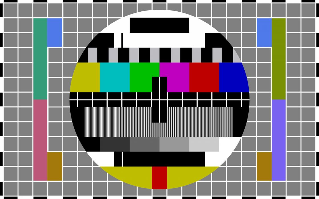 test pattern wallpaper