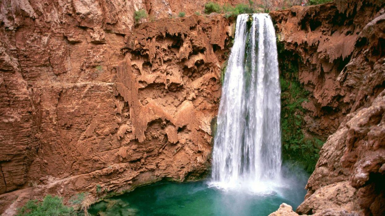canyon falls Arizona Grand Canyon wallpaper