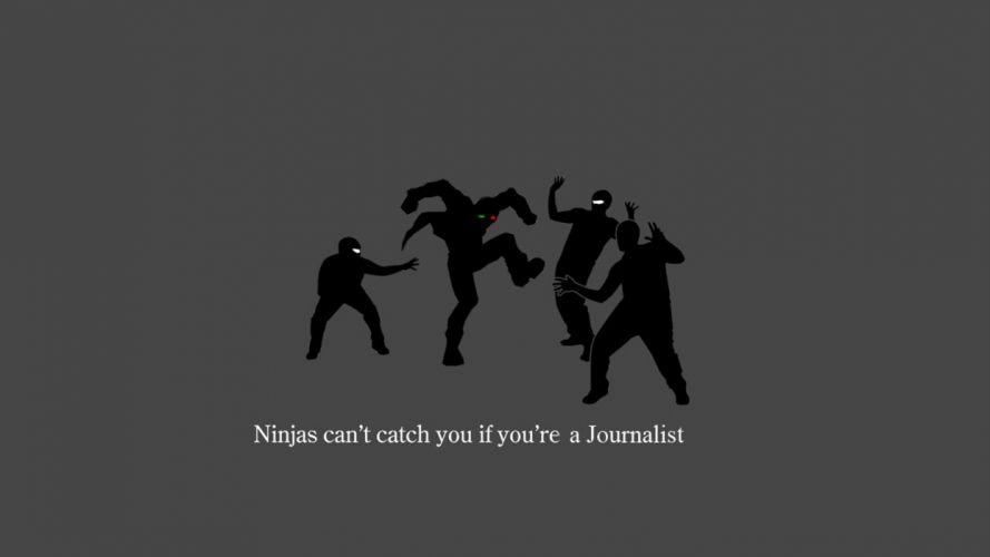 ninjas cant catch you if Spider Jerusalem wallpaper