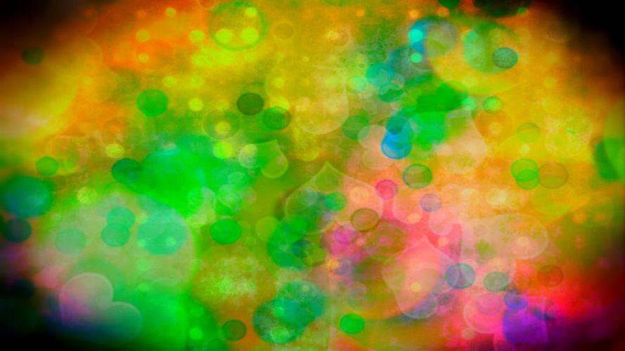 multicolor digital art backgrounds many colors wallpaper