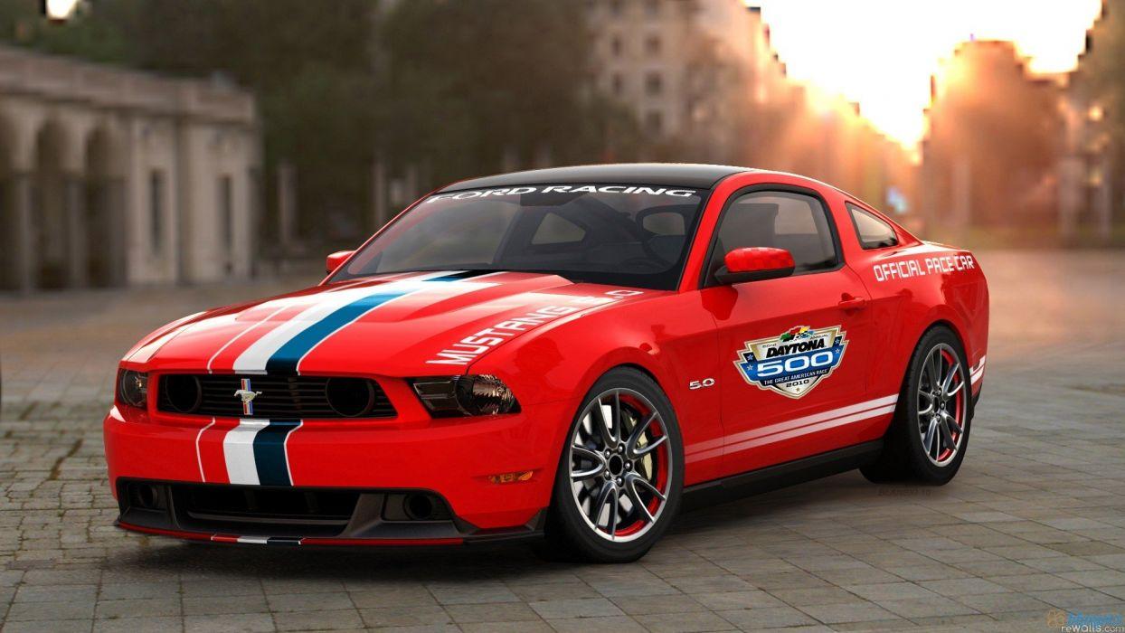 Ford Ford Mustang Daytona Pace Car wallpaper