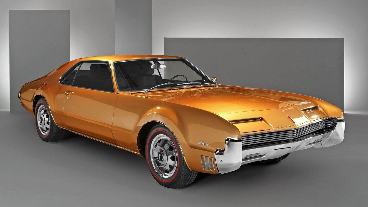 cars Jay Leno manu Oldsmobile Toronado wallpaper