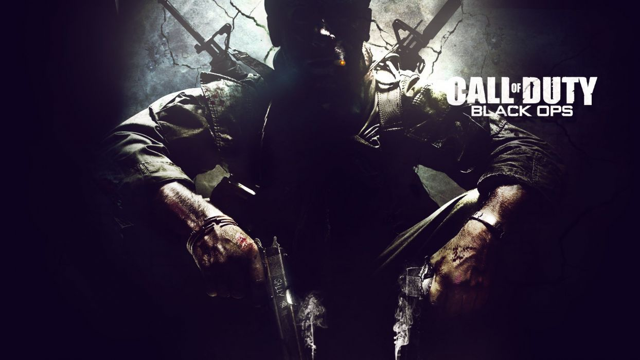 video games black Call of Duty logos commercial Call of Duty: Black Ops wallpaper