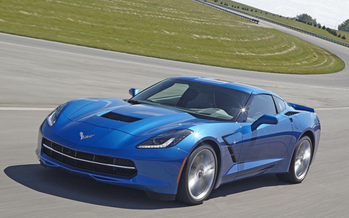 cars stingray blue cars chevrolet corvette c7 wallpaper