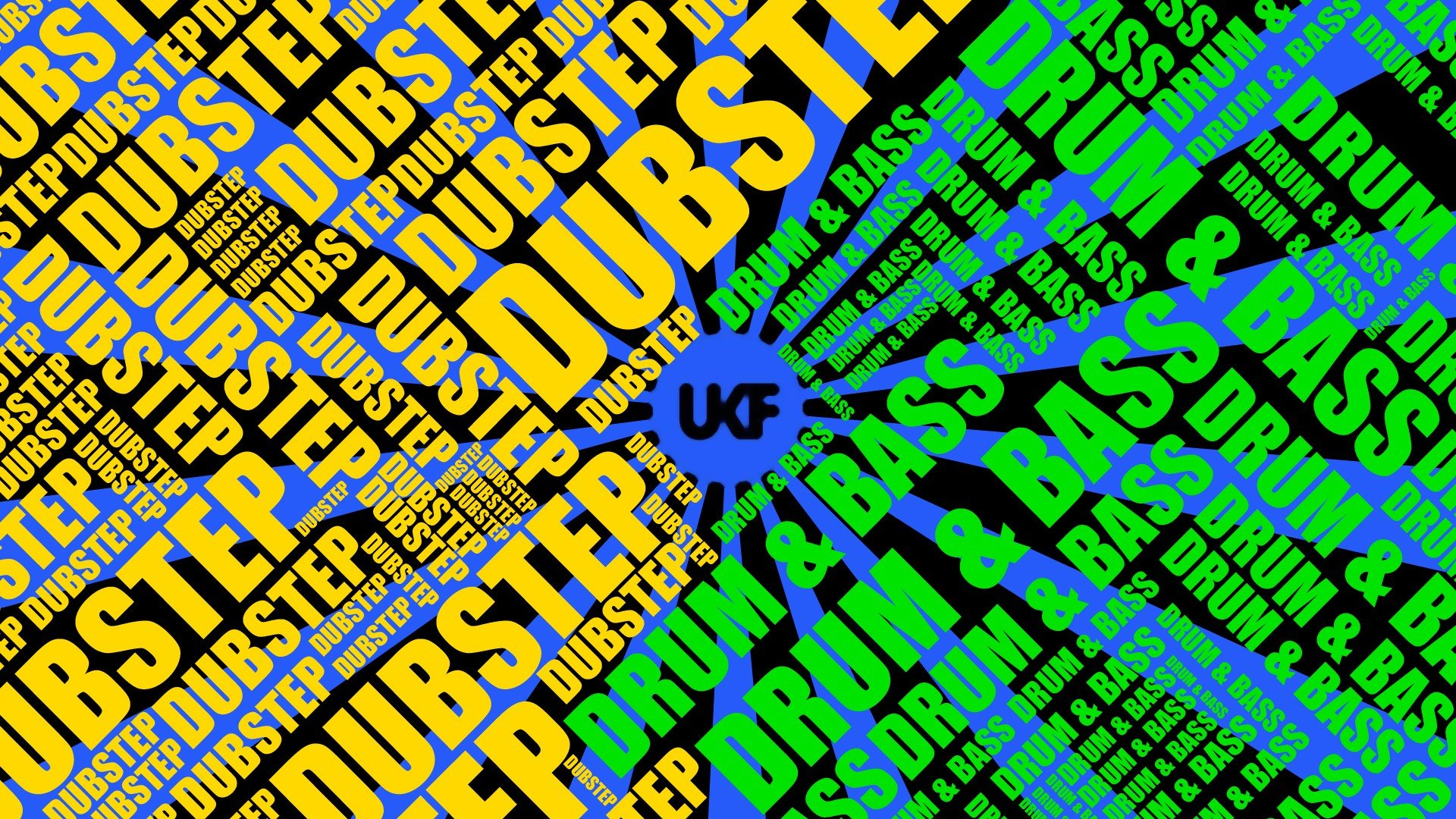 Music Multicolor Typography Dubstep Drum And Bass Wallpaper