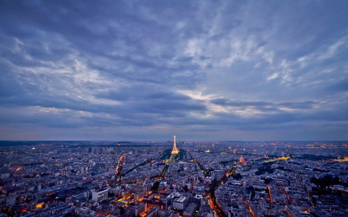 Paris architecture buildings wallpaper
