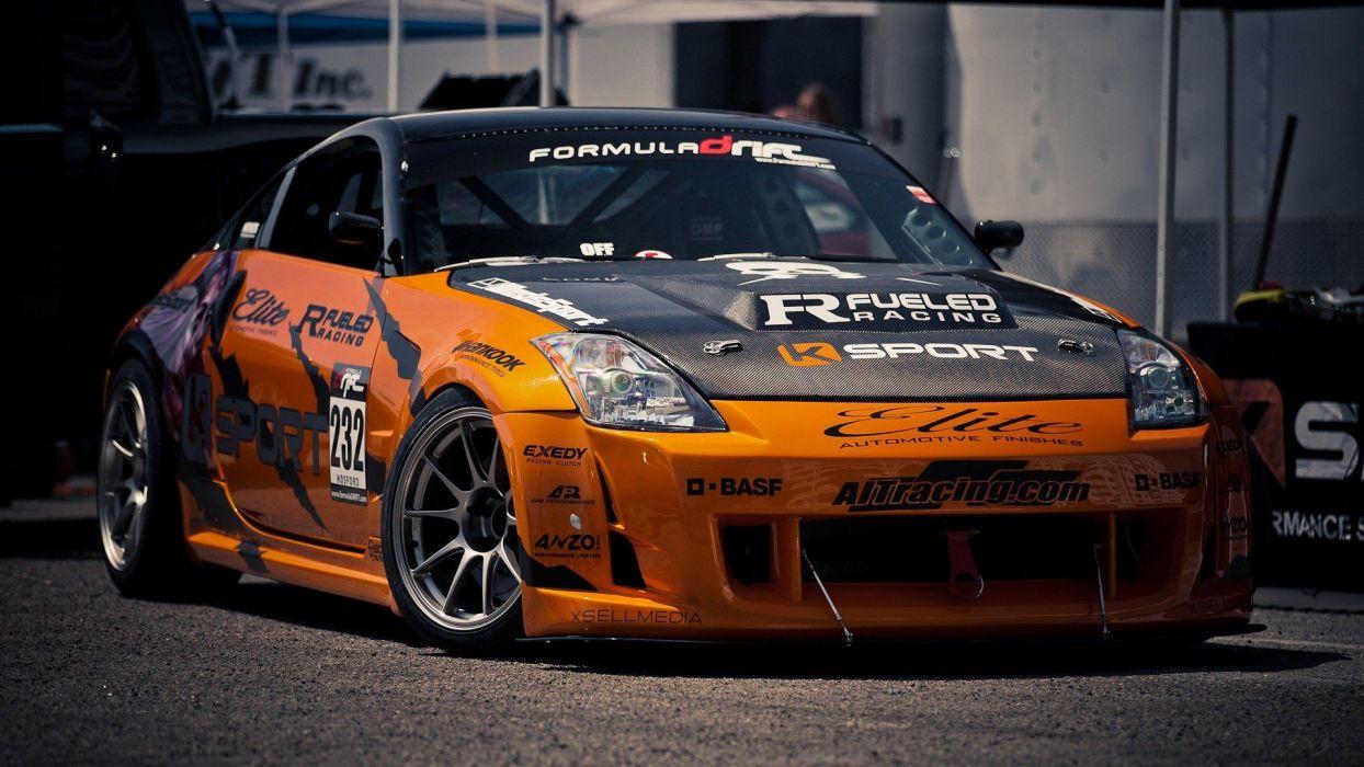 cars tuning Nissan 350Z wallpaper