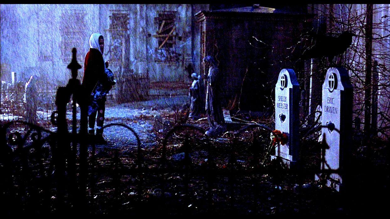 The Crow Action Fantasy Dark Gothic Brandon Lee Crow 10