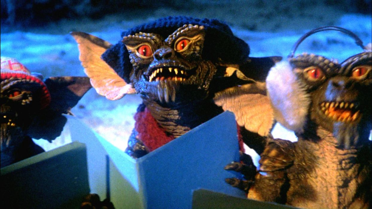 GREMLINS comedy horror creature monster alien (1) wallpaper