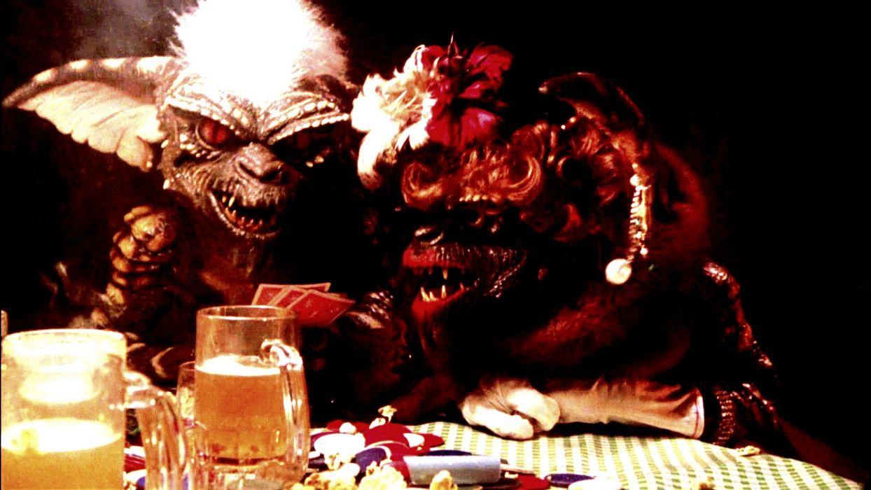 GREMLINS comedy horror creature monster alien (7) wallpaper