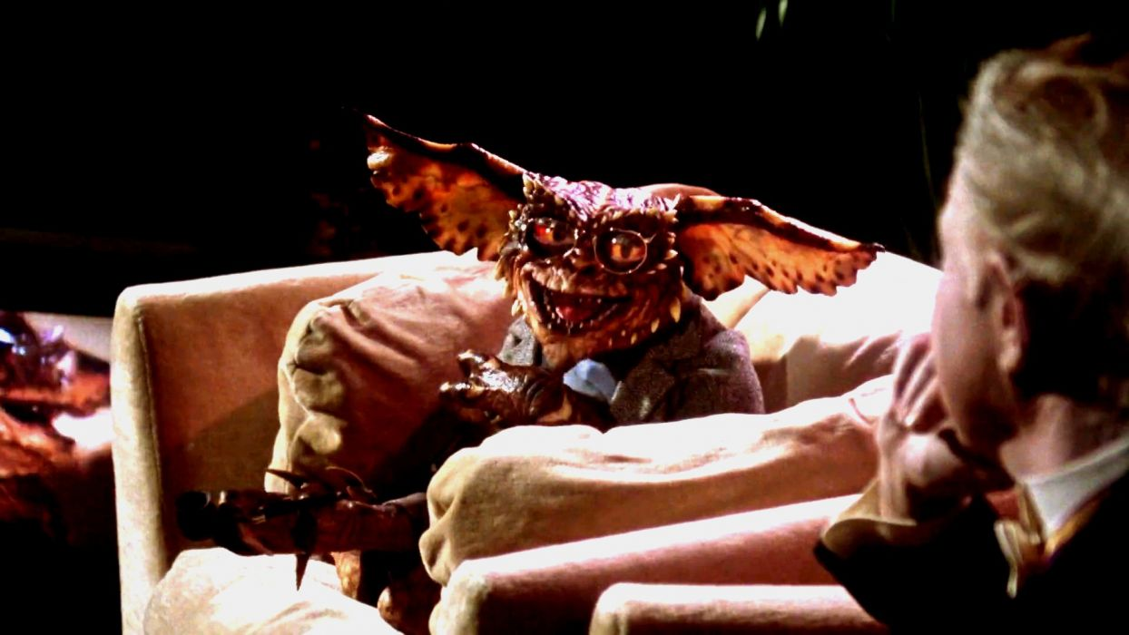 GREMLINS comedy horror creature monster alien (9) wallpaper