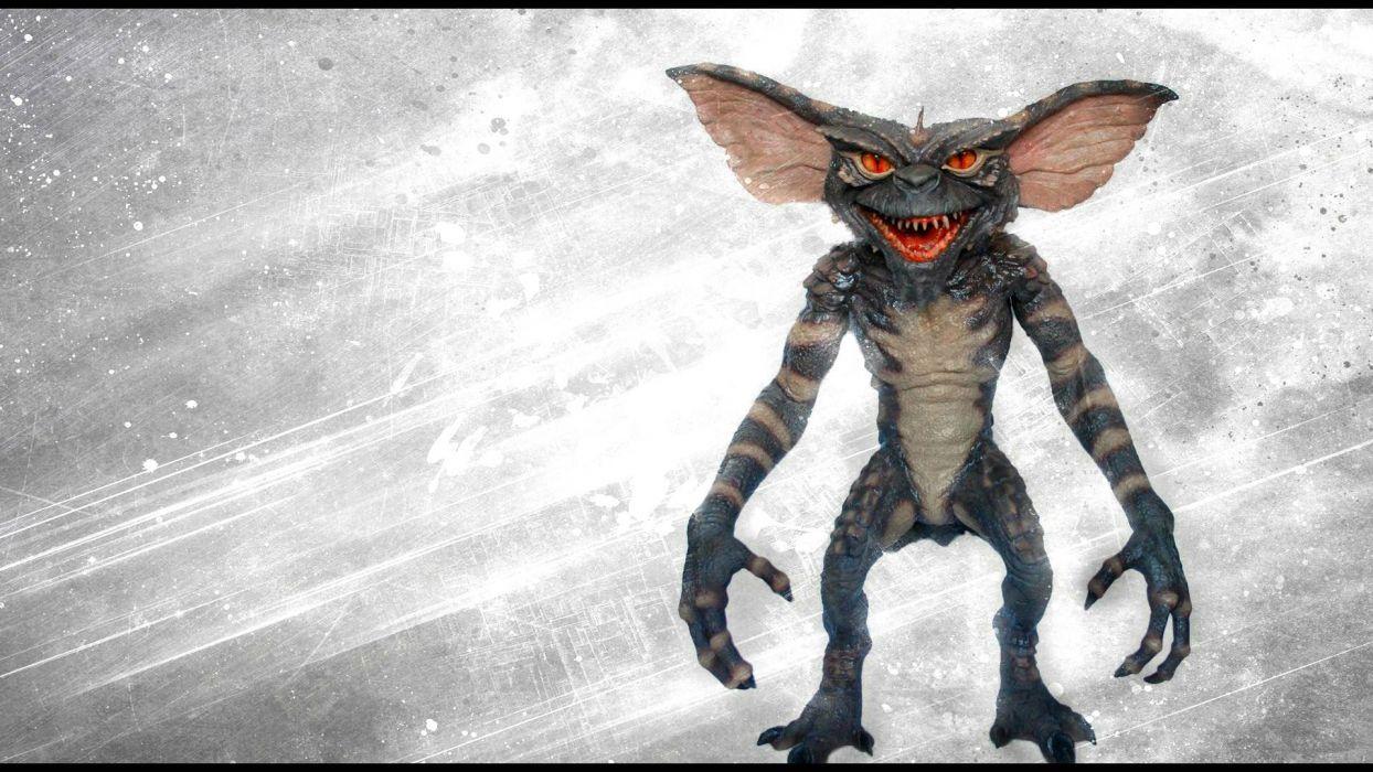 GREMLINS comedy horror creature monster alien (15) wallpaper
