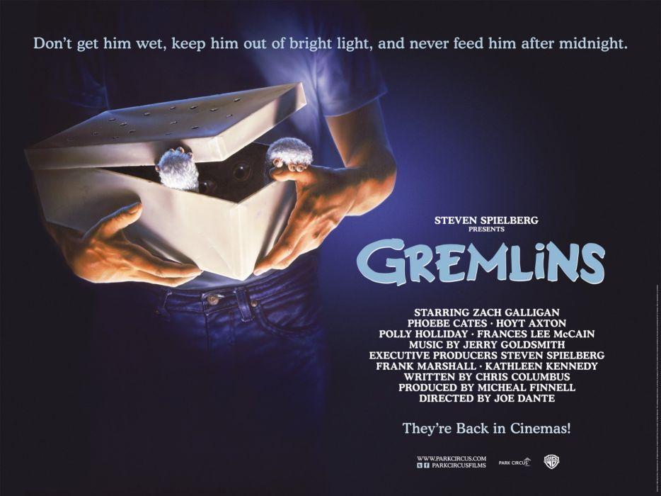 GREMLINS comedy horror creature monster alien (18) wallpaper
