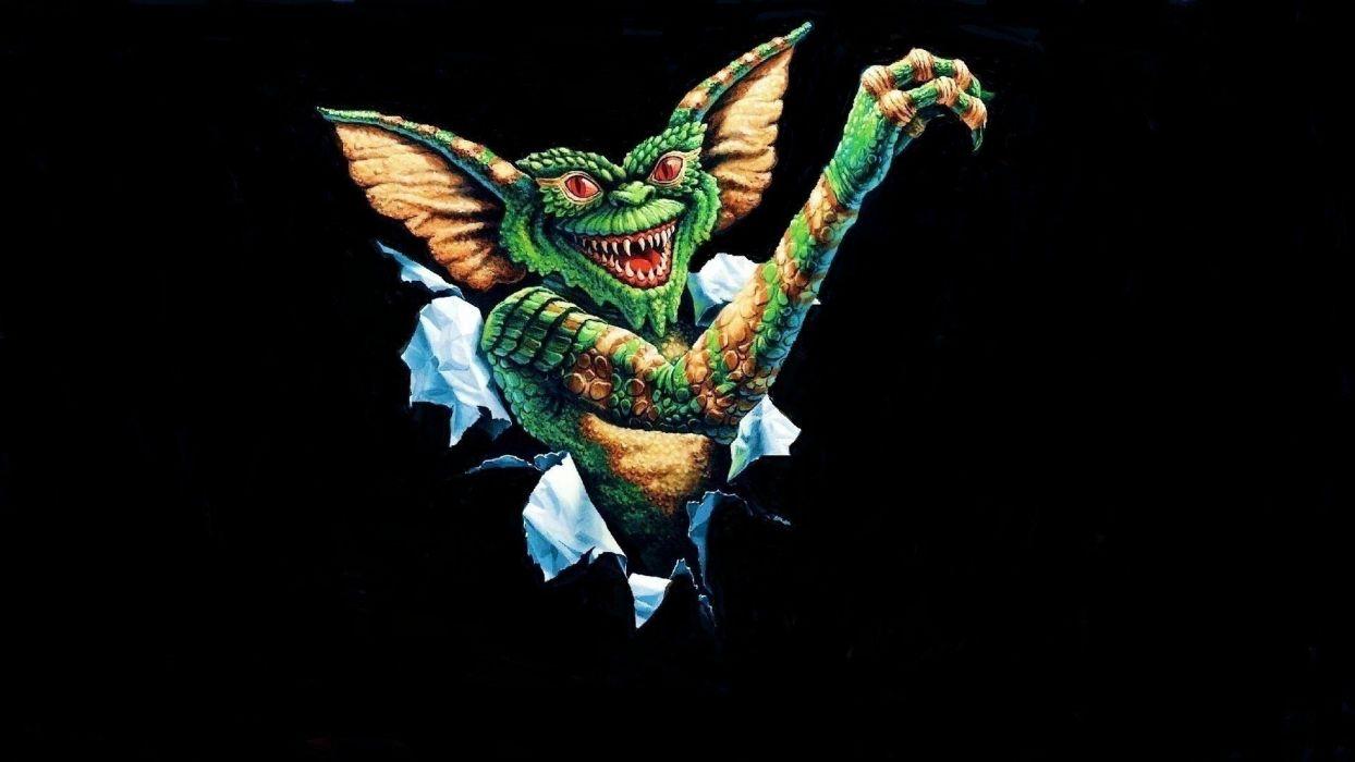 GREMLINS comedy horror creature monster alien (21) wallpaper