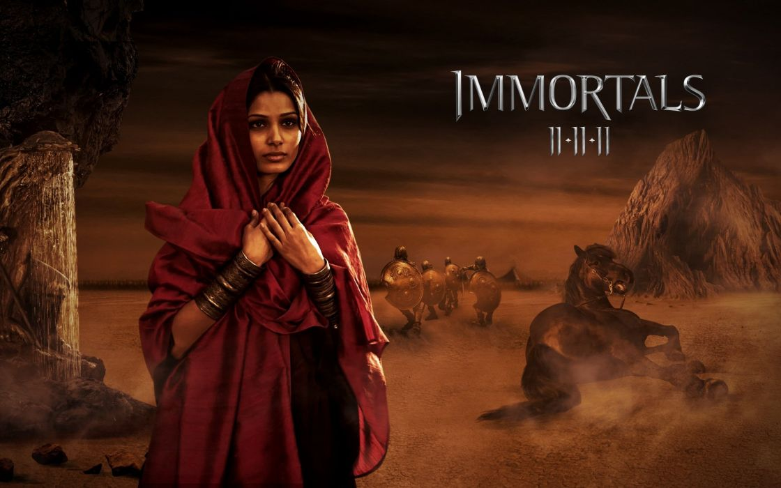 IMMORTALS fantasy action adventure movie film poster wallpaper