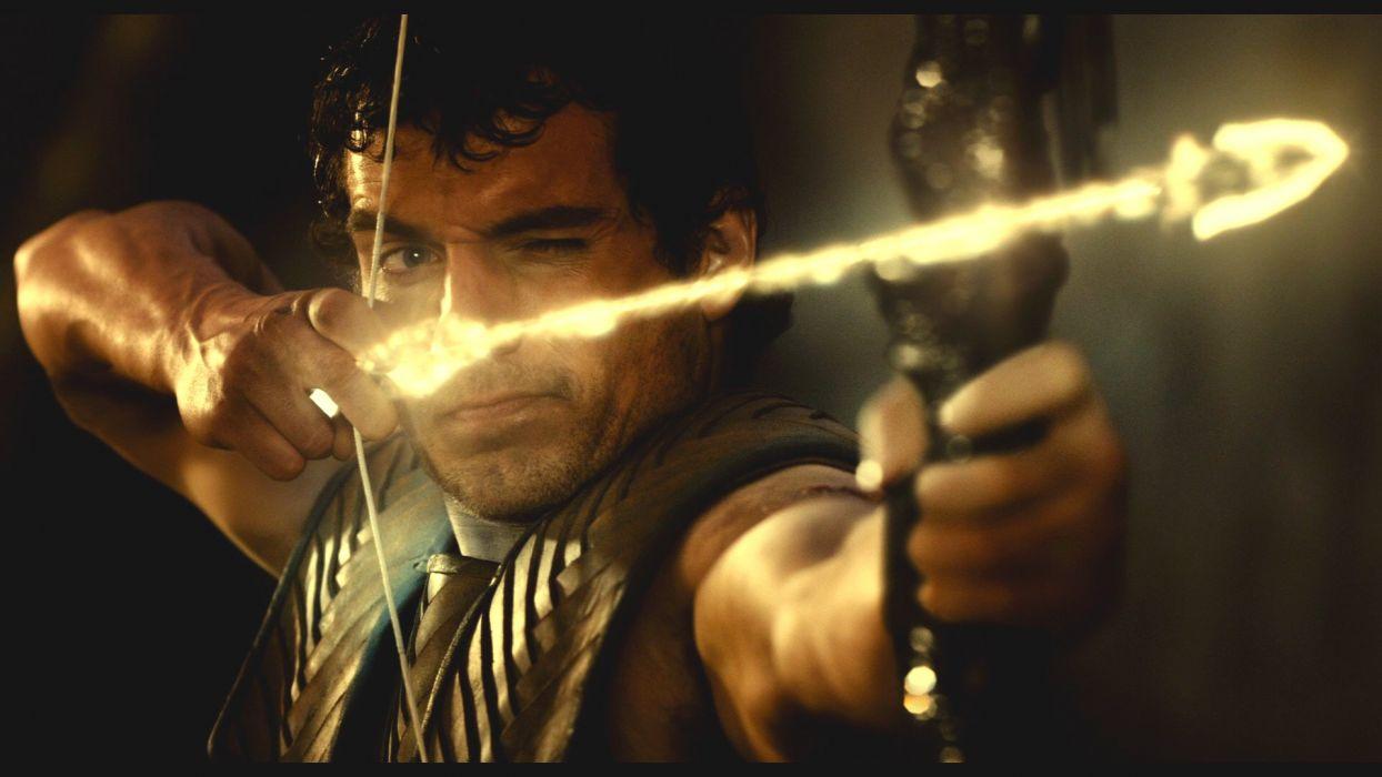 IMMORTALS fantasy action adventure movie film warrior archer magic fire wallpaper