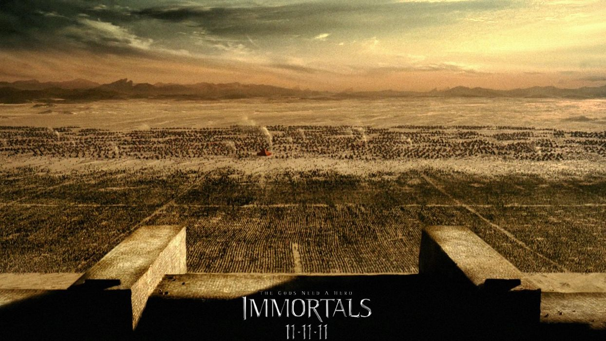 IMMORTALS fantasy action adventure movie film warrior poster wallpaper