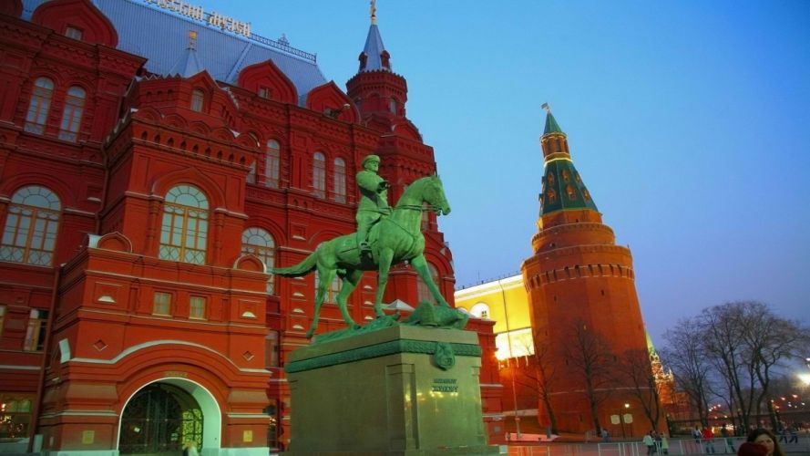 Russia marshall Moscow historic museum wallpaper