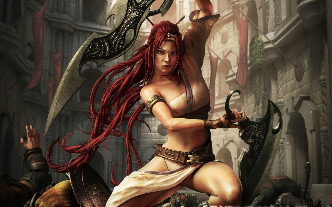 women video games Heavenly Sword wallpaper