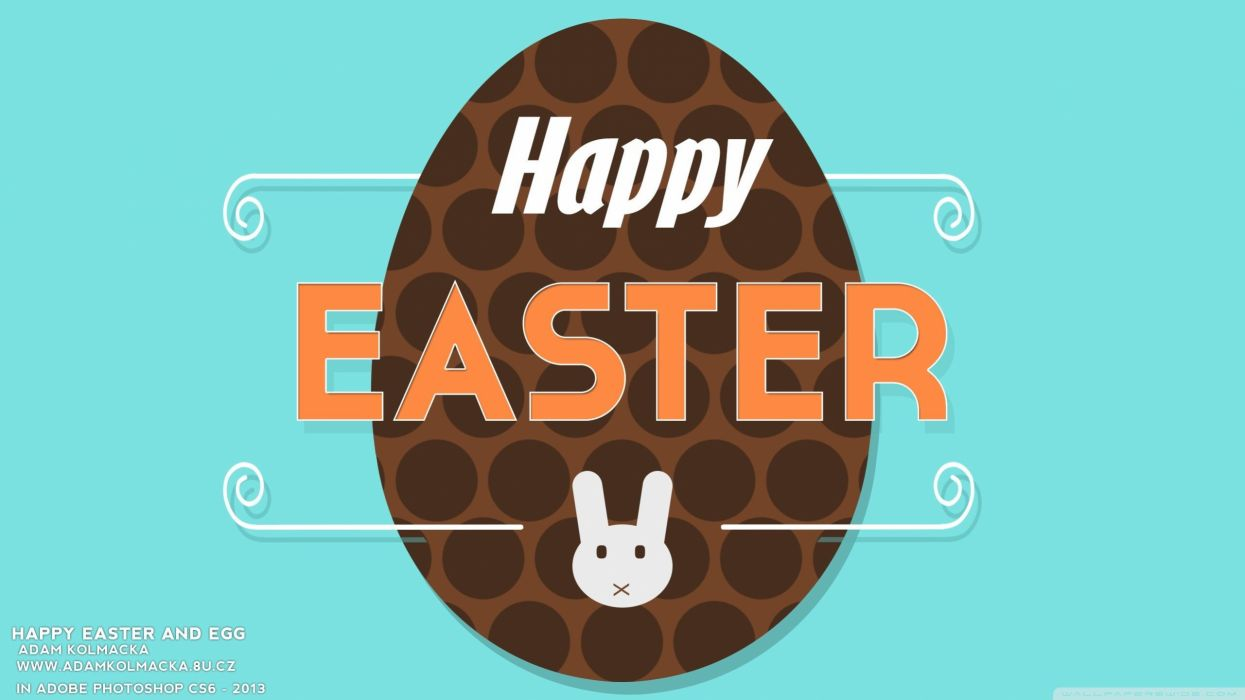 eggs happy Easter wallpaper