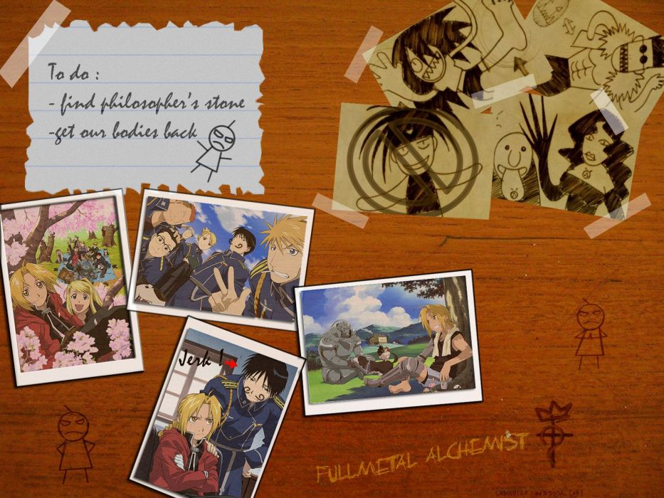 Fullmetal Alchemist Military Elric Alphonse Edward Roy Mustang Maes Hughes Rockbell Winry Riza Hawkeye Jean
