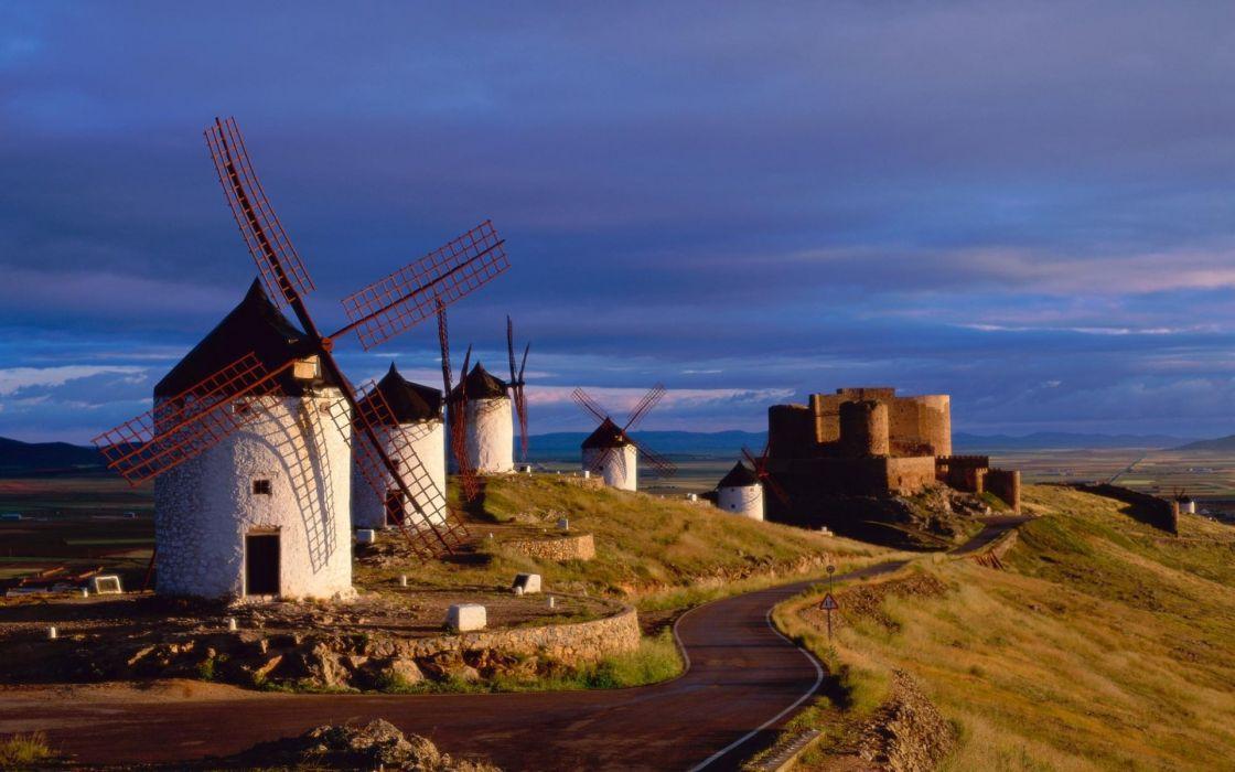 windmills wallpaper