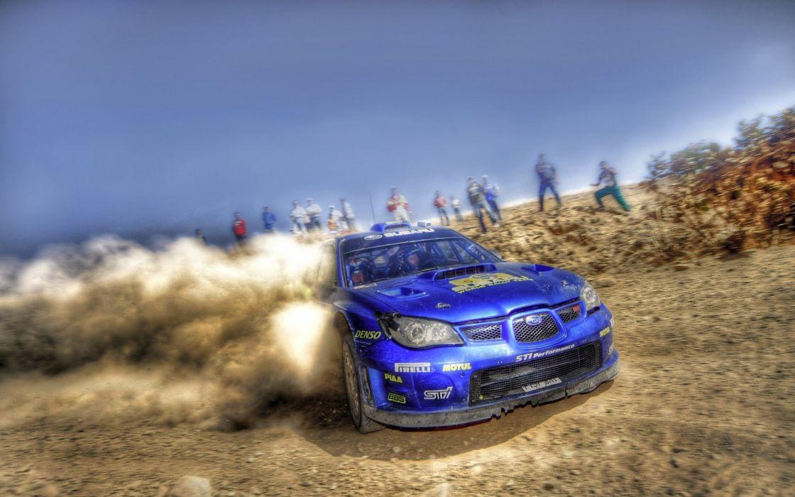 Subaru rally cars wallpaper