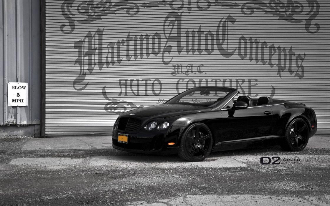 black cars vehicles garages Bentley Continental luxury sport cars Bentley Continental Supersports Convertible wallpaper