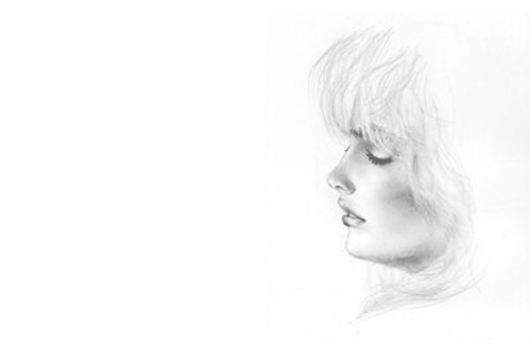 white sketches grayscale drawings faces white background wallpaper