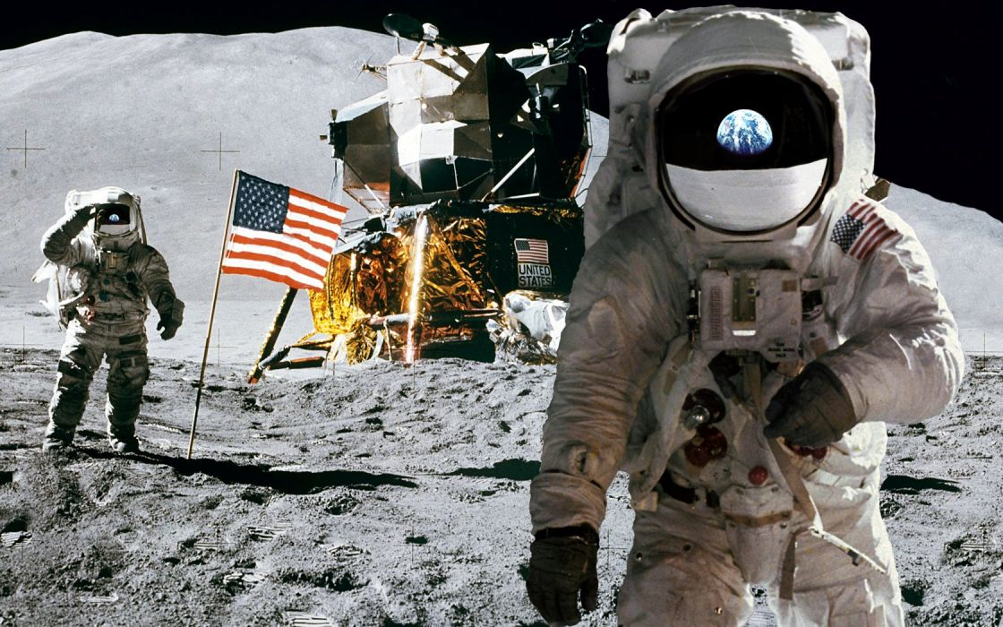 outer space Moon NASA astronauts wallpaper