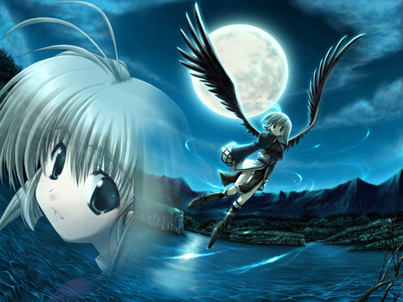 Angels utawarerumono anime girls wallpaper background - Anime 1600x1200 ...