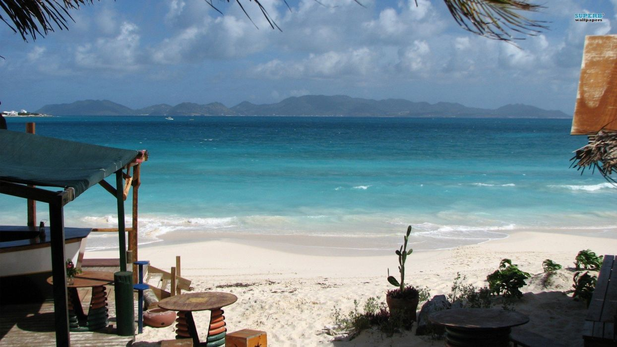 summer Anguilla beaches wallpaper