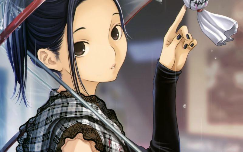 Love Plus anime girls Kobayakawa Rinko wallpaper