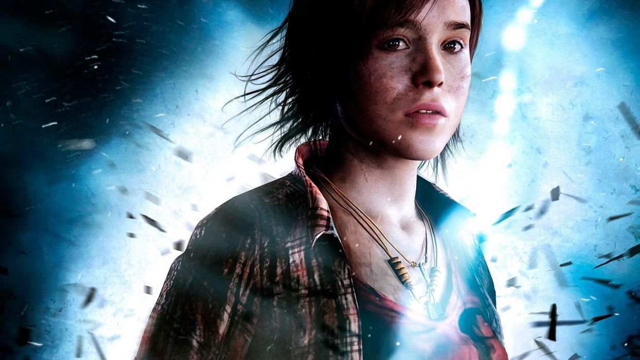 women Ellen Page beyond two souls wallpaper