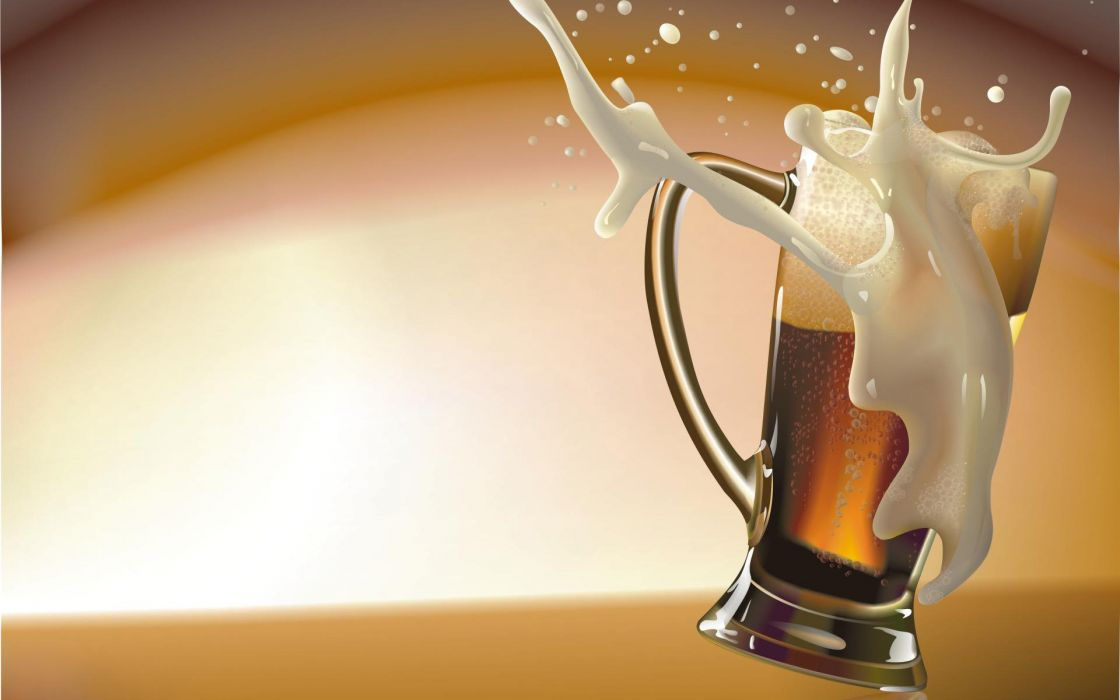 beers vector wallpaper