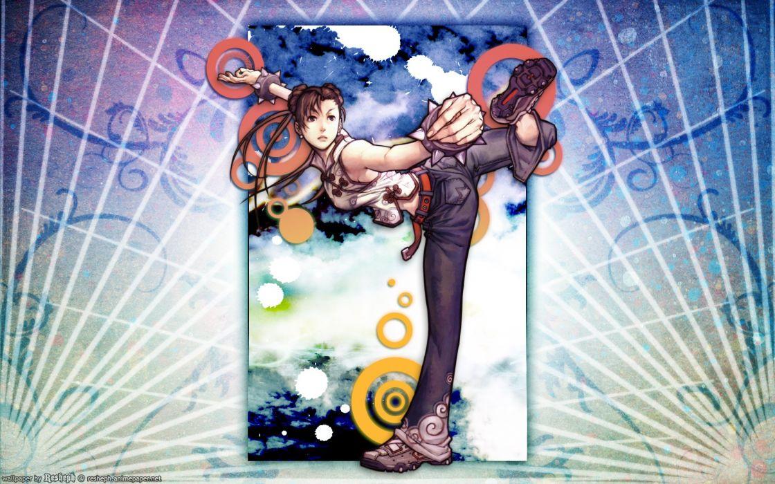 Street Fighter Chun-Li anime anime girls wallpaper