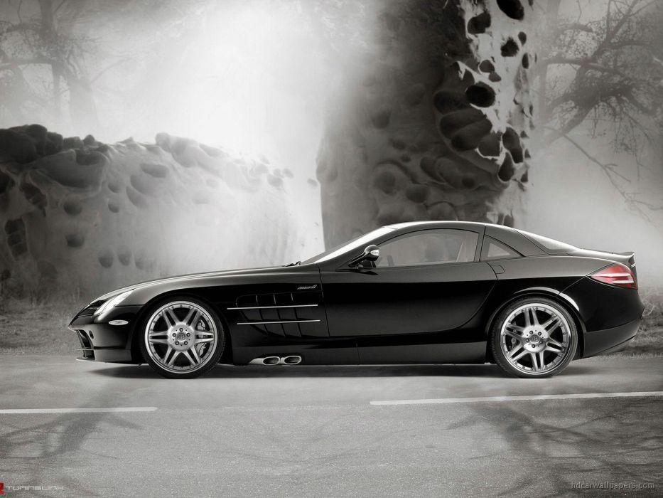 cars Brabus sports car Mercedes Benz Mercedes Benz SLR McLaren normal SLR McLaren wallpaper