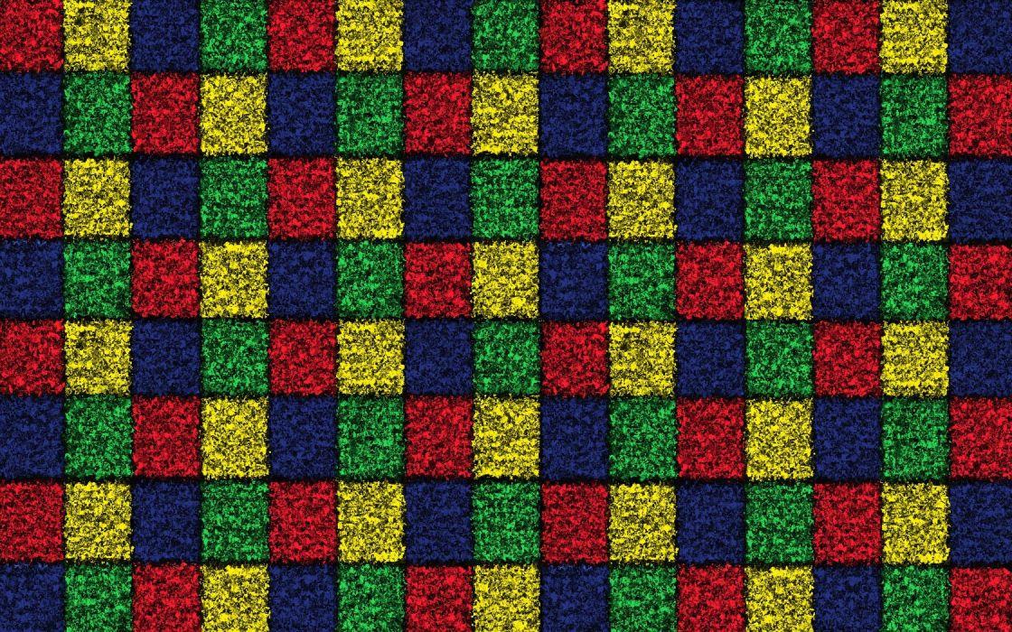 mosaic squares wallpaper