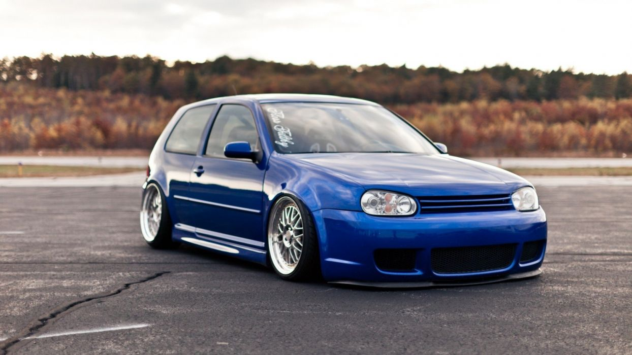 cars Volkswagen Golf IV wallpaper