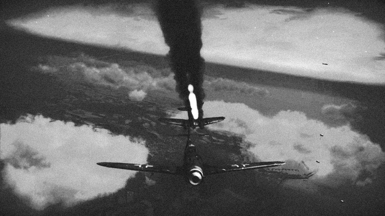 aircraft military smoke wallpaper