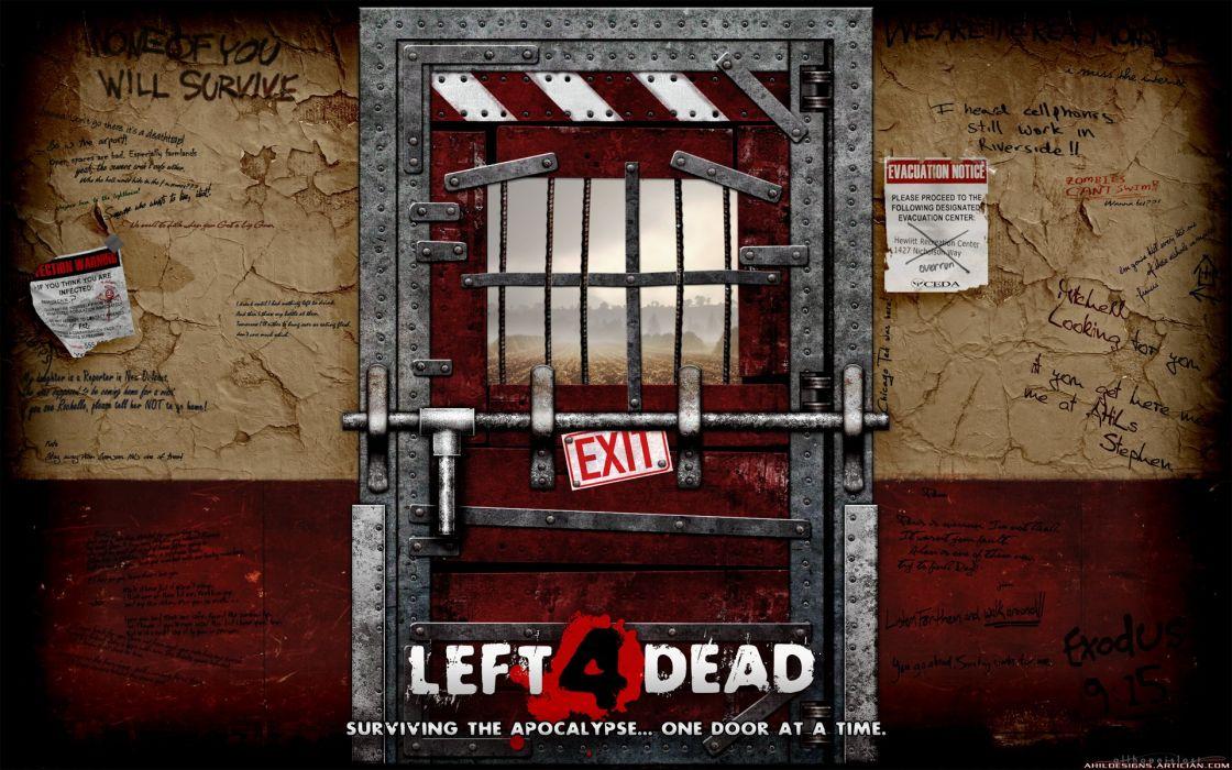 Valve Corporation Left 4 Dead wallpaper