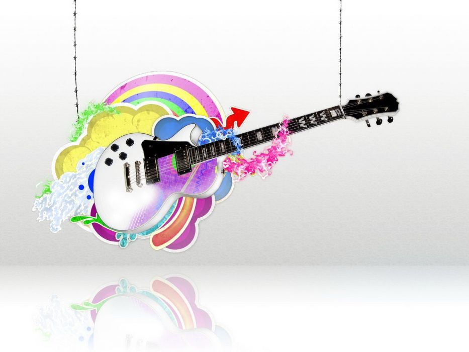 music guitars wallpaper