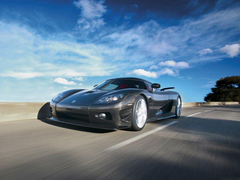 cars vehicles carbon fiber Koenigsegg CCXR wallpaper