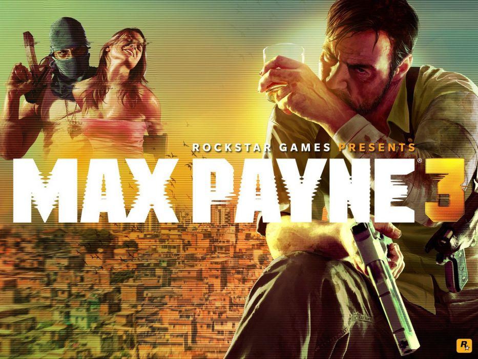 Max Payne Max Payne 3 wallpaper