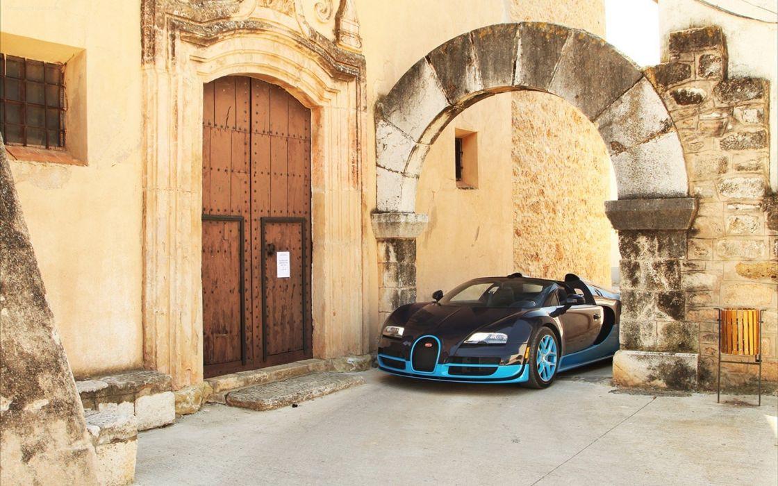 cars Bugatti Veyron Bugatti Veyron Grand Sport wallpaper